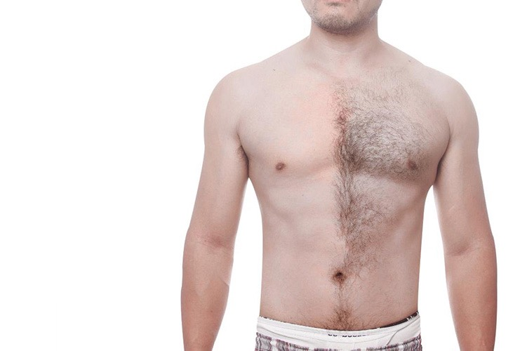 Mens Sugaring Chest